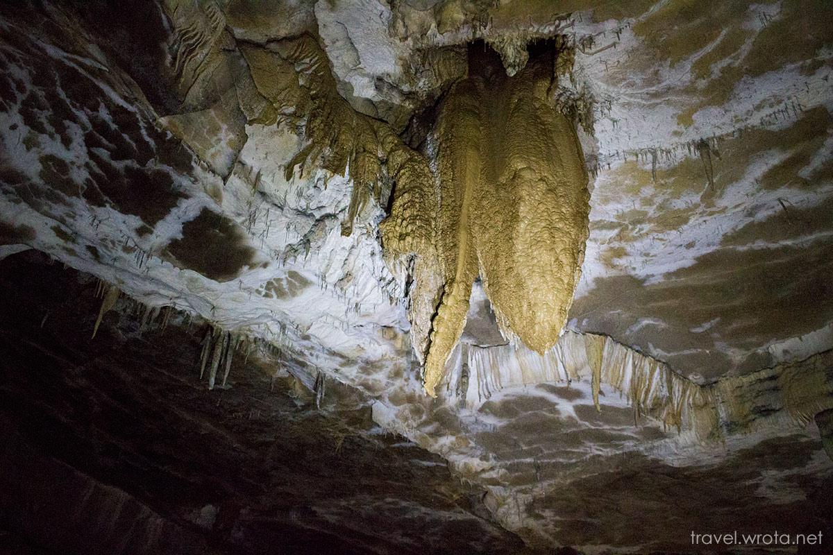 Križna jama – wyprawa pontonem po podziemnych jeziorach